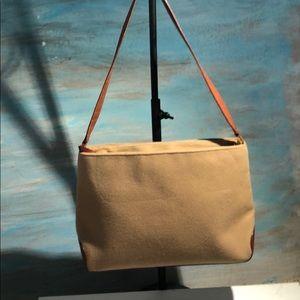 Kate Spade ~ Wool & Leather shoulder bag